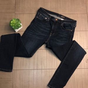 💙 H&M SHAPING DARK BLUE SKINNY JEANS SZ 33/34 💙